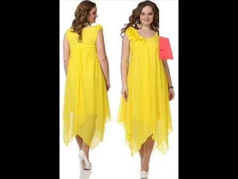 Весна-Лето 2016. EVAcollection. Женская одежда большие размеры. Мода для полных. - YouTube