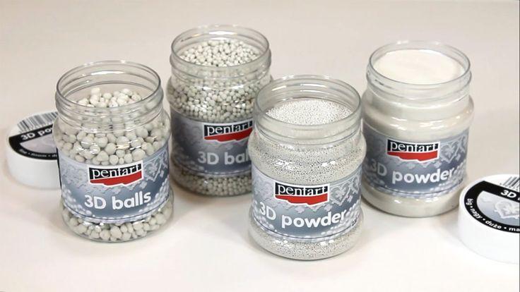 3D porok es golyók // 3D powder and balls