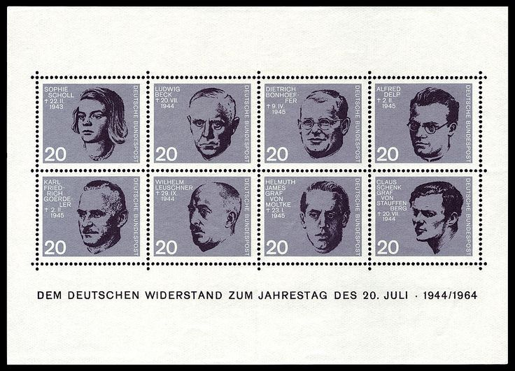 Remembering Today: the 20th July plot (1944) https://en.wikipedia.org/wiki/20_July_plot