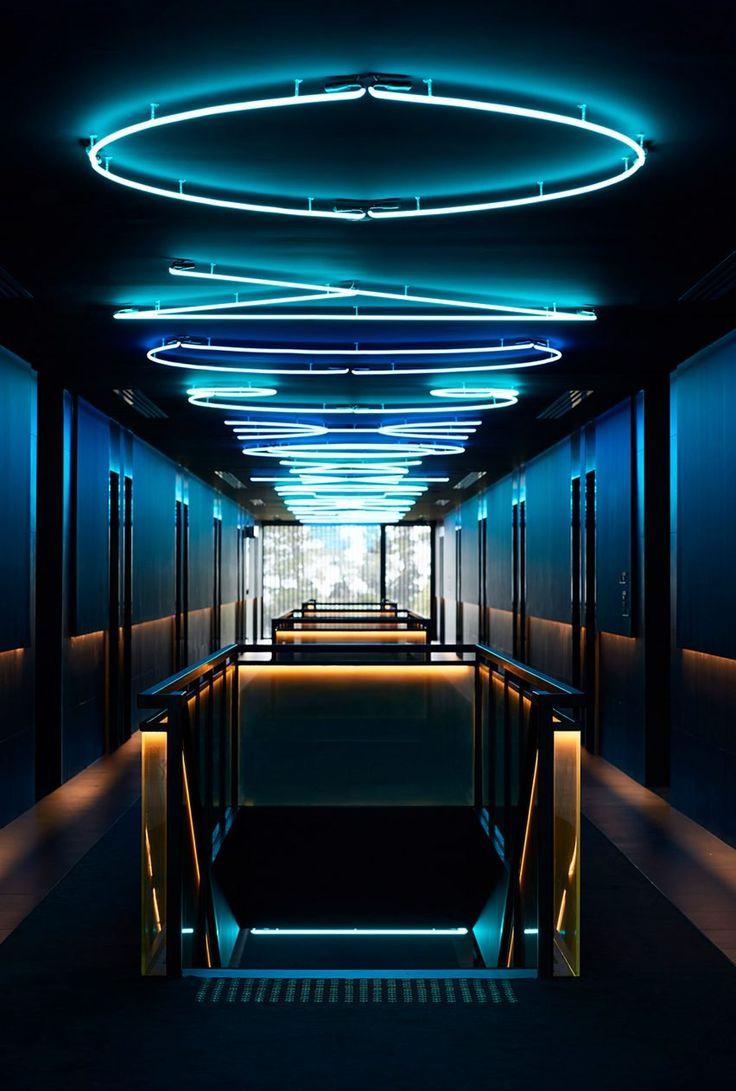 Carr creates dark and moody interiors for art filled hotel in australias wine region