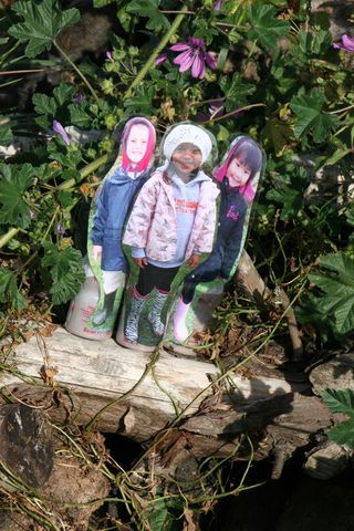 """DIY Mini Me's: Mini-Me's can be really effective in helping children to develop language and communication skills as well as personal social skills and positive behaviors."""" ≈≈"""