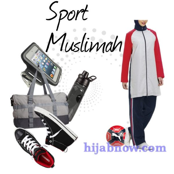 """""""Modest muslim sportswear for muslim sisters"""" by modestfashion on Polyvore"""