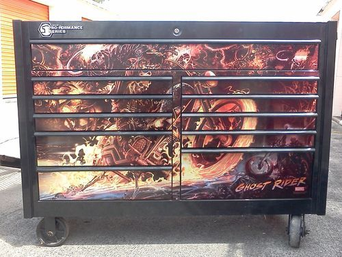Matco Ghost Rider Limited Edition 2 Bay Toolbox Pro