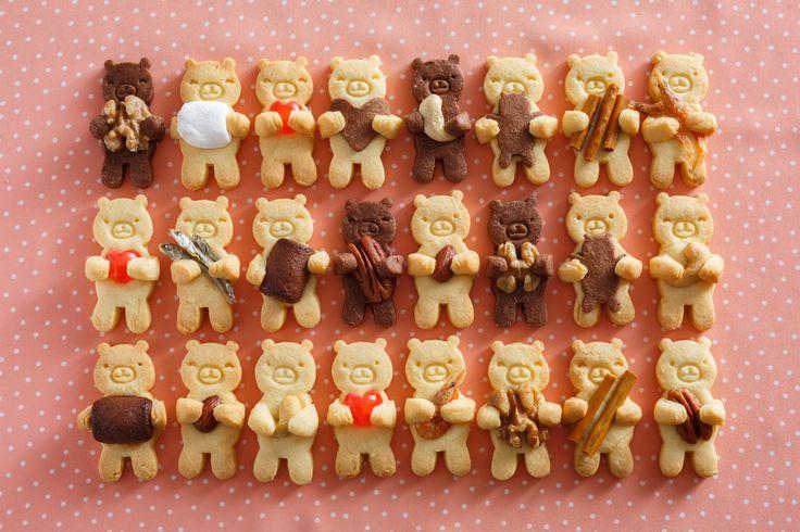 だっこ型抜きクッキー by 貝印(KAI) [クックパッド] 簡単おいしいみんなのレシピが262万品