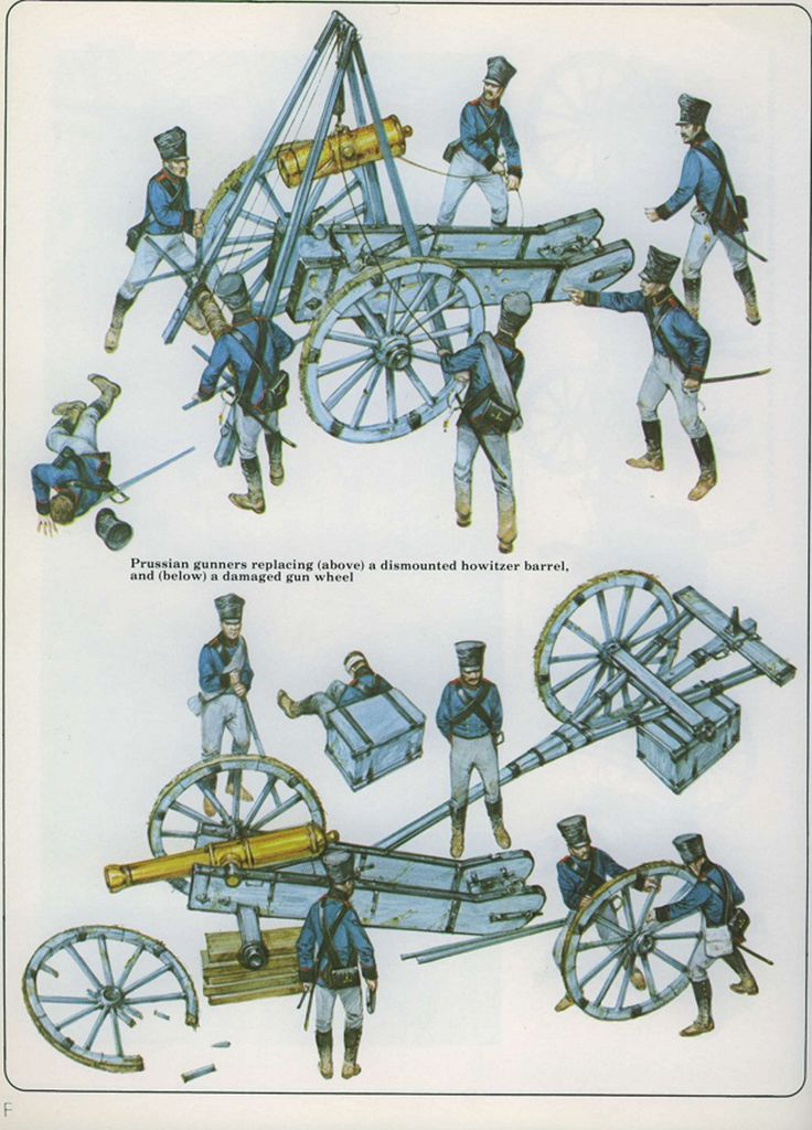 Artillery Equipments of the Napoleonic Wars 6