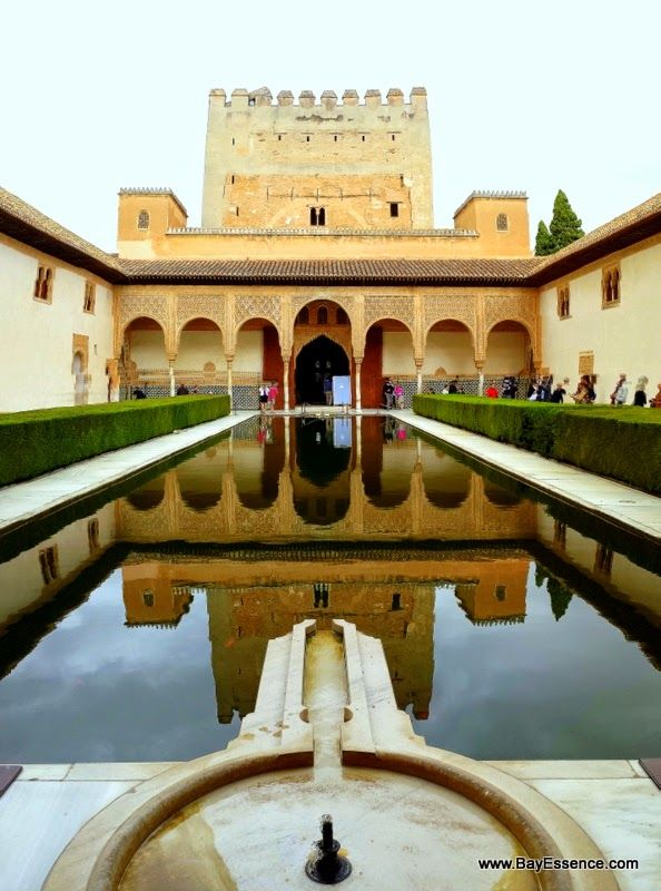 In the palaces of the Alhambra | Granada, Spain | www.bayessence.com