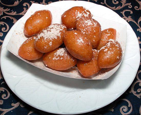loukoumades - greek donuts!