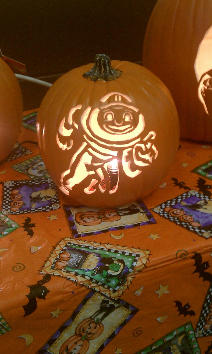 Ohio State Pumpkin Carving Patterns Templates