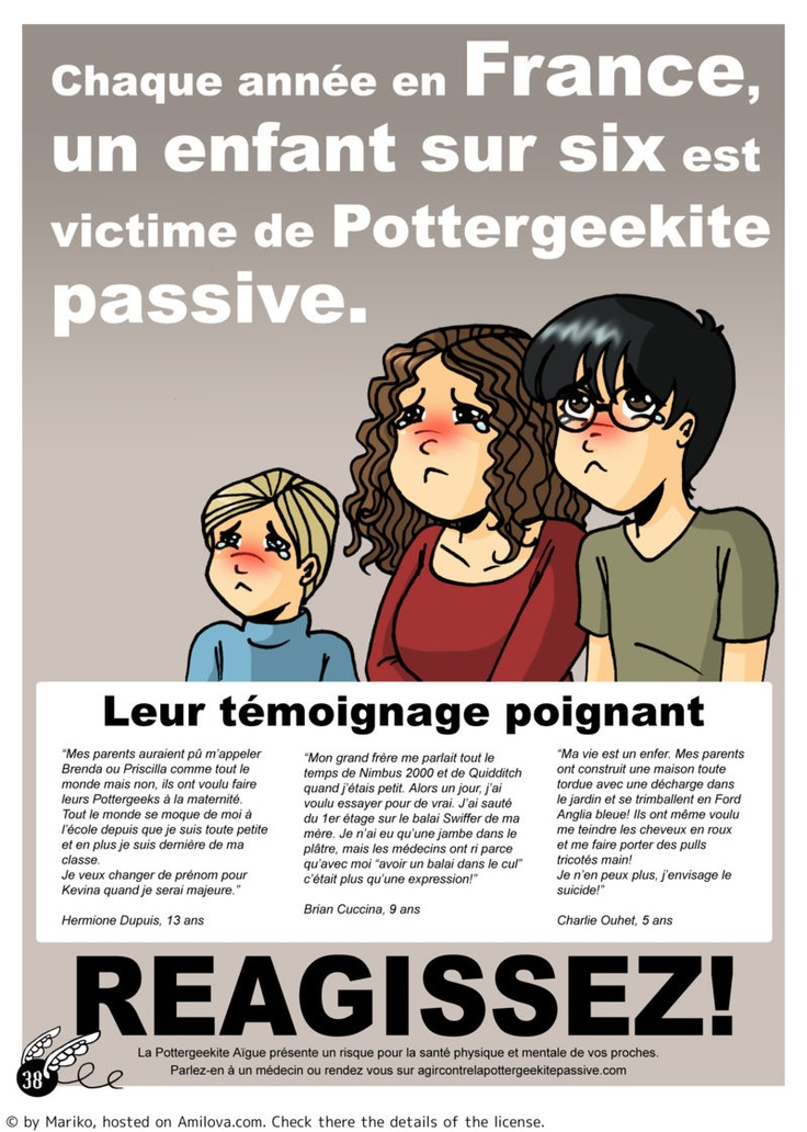 JOURNAL D'UNE POTTERGEEK - Humour : Manga en lecture gratuite (Ch.3-P.10) : trop drôle !