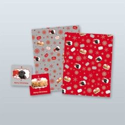 Guide Dogs Queensland Christmas Wrap + Tag