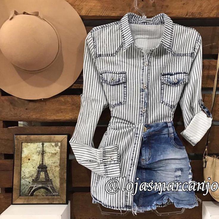 """130 curtidas, 4 comentários - Loja Sao Miguel Arcanjo (@lojasmarcanjo) no Instagram: """"As novidades amanhã estão incríveis por aqui Um luxo essa camisa megaaaa estilosa. Nos amamos e…"""""""