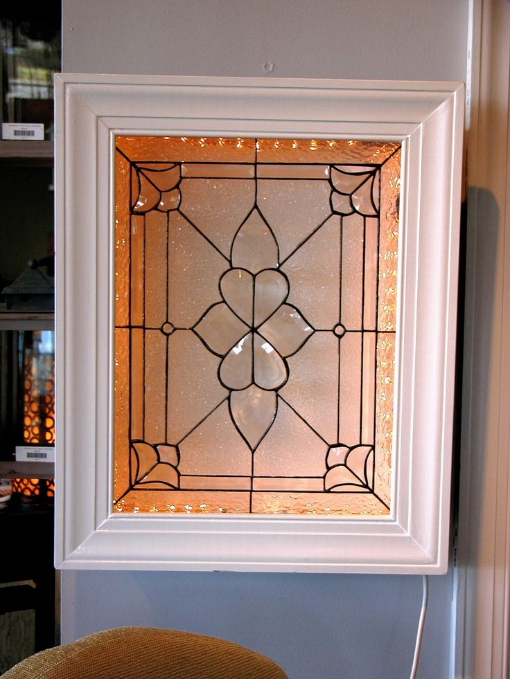 Traditional style. #stainedglass #window #faux #elegant #beautiful #stylish #privacy #custom #homedecor #decor #traditional
