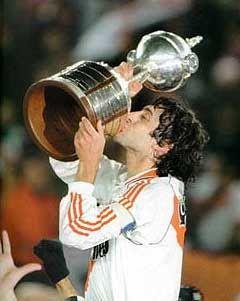 Enzo Francescoli y copa Libertadores de America