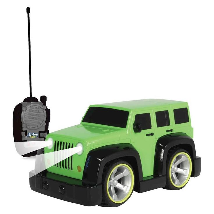 Nkok - Junior Racer My First Jeep Wrangler Unlimited RC Vehicle - Green