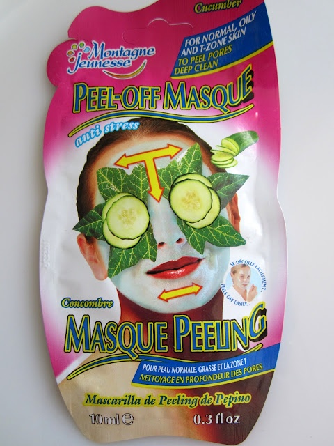 Montagne Jeunesse Cucumber Peel Off Mask. these are my favorite. always 2/$3 at sweetbay!