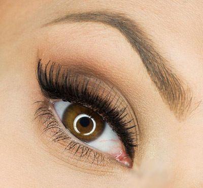 Макияж для светло-карих глаз