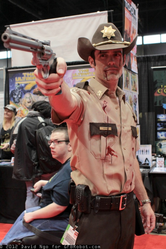 """My """"The Walking Dead"""" Rick Grimes costume"""