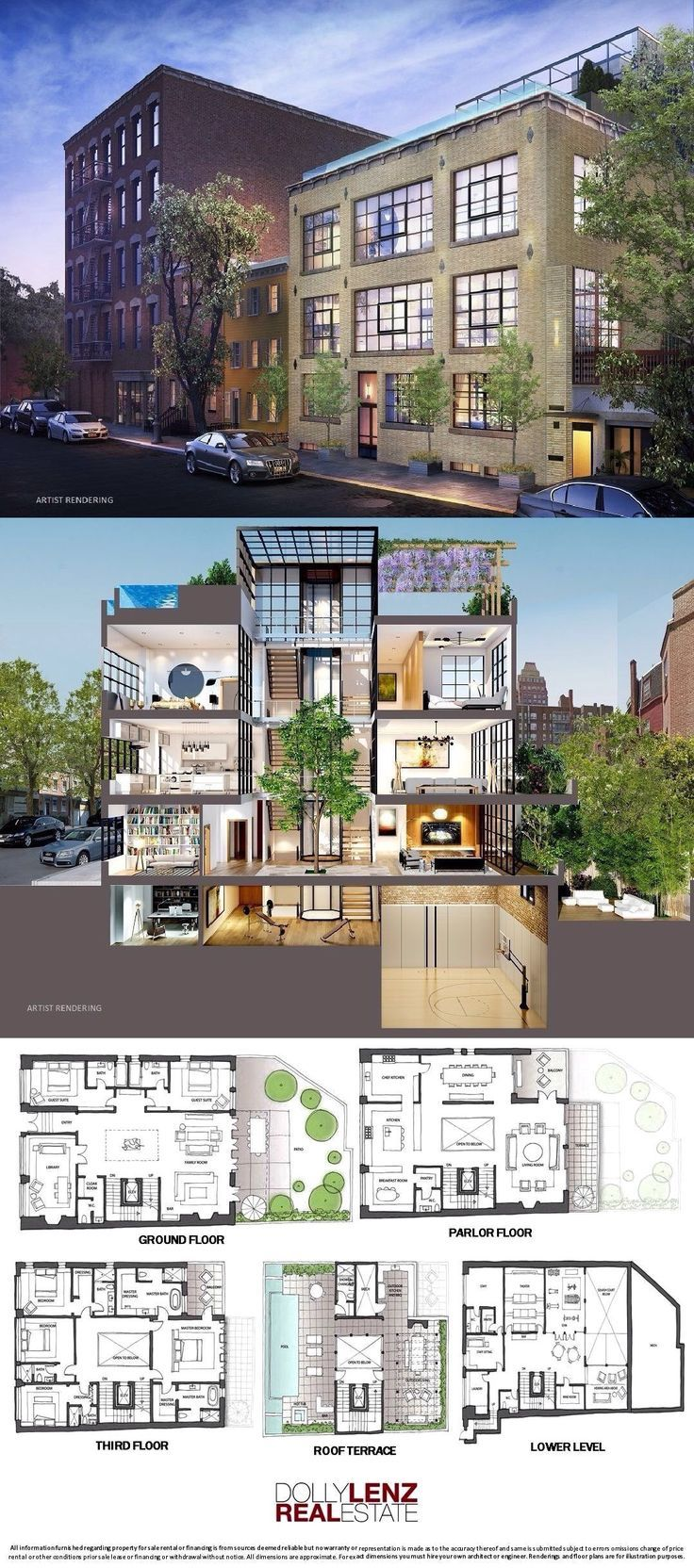 Update 134 Charles Street Is A Sale Unit In West Village Manhattan Priced At 49 500 000 Sims House Plans House Blueprints Mansion Floor Plan