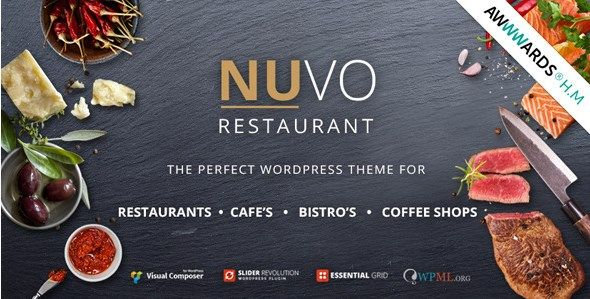 Download NUVO  Cafe & Restaurant WordPress Theme v6.0.1 Download NUVO  Cafe & Restaurant WordPress Theme v6.0.1 Latest Version