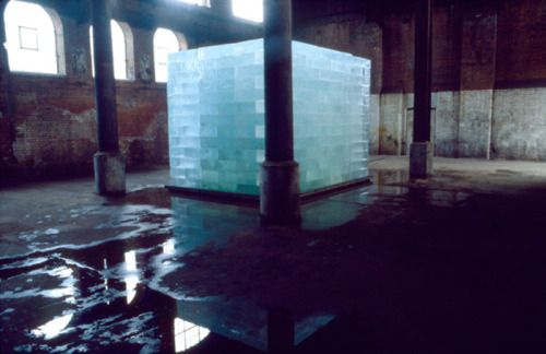 Anya Gallaccio - Intensities and Surfaces (1996) - Wapping Pumping Station, London