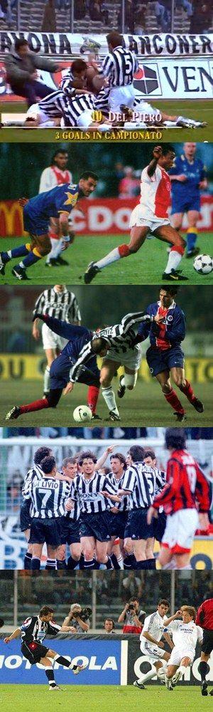 Cinque indimenticabili partite della Juventus di Marcello Lippi