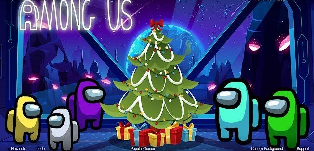 Among Us Christmas Wallpaper For Mobile Phone Tablet Desktop Computer And Other Devices H Among Us Christmas Wallpaper Christmas Wallpaper Among Us Christmas Wallpaper hd pc among us