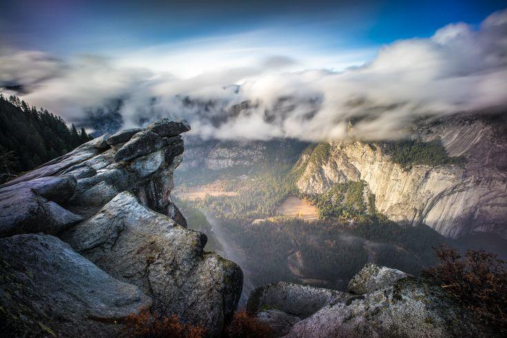 Glacier point Yosemite national park California by Giuseppe Milo Nov. 14 2014 [2048 x 1365]