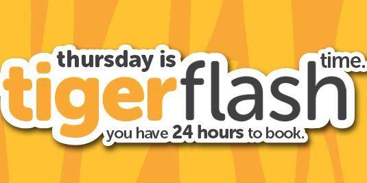 Tigerair Singapore Thursday 24 Hours Flash Sale Promotion 6 Oct 2016