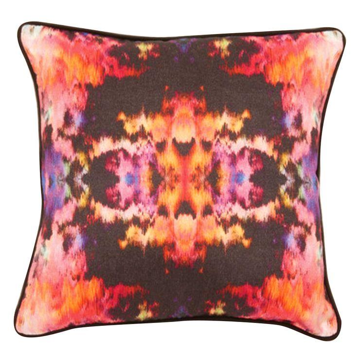 Kaleidoscope Cushion Cover by Langdon Ltd on POP.COM.AU