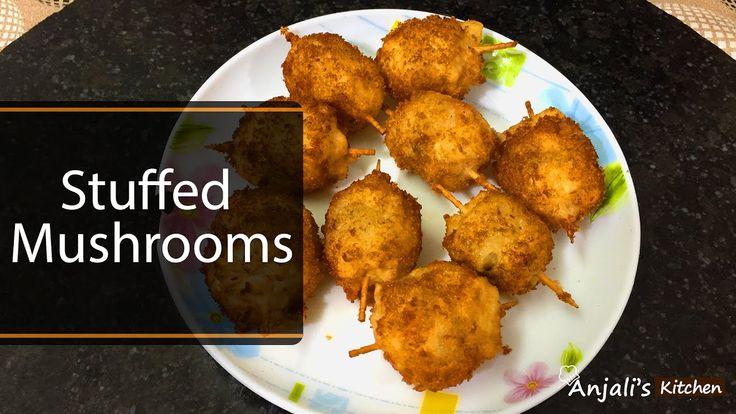 How to make Stuffed Mushrooms : Mushroom Recipe In Hindi