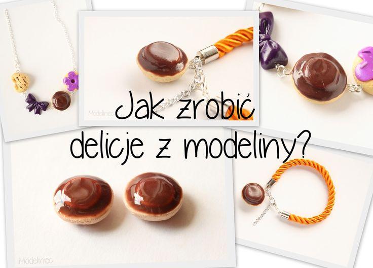 Jak zrobić delicje z modeliny?/How to make cookie with polymer clay?