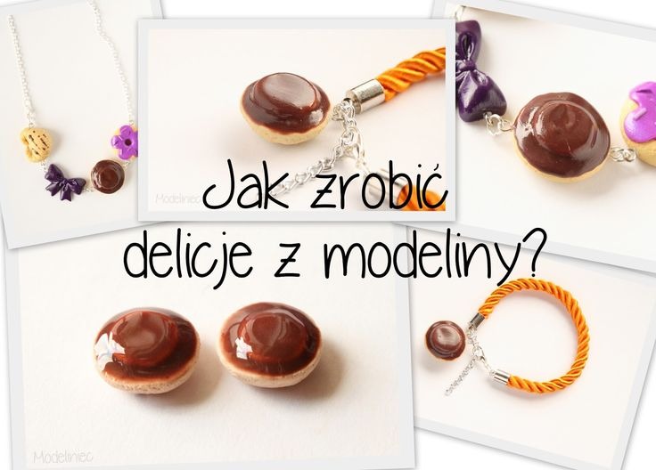 Jak zrobić delicje z modeliny?/How to make cookie with polymer clay?