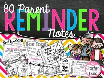 Do you ever scramble to type a quick note to remind parents about X,Y, and Z? This pack will save you from all that drama. These notes are provided in full and quarter sheet formats so that you can choose the number copies you want to run! Simply grab, copy, and go! It could not be easier!