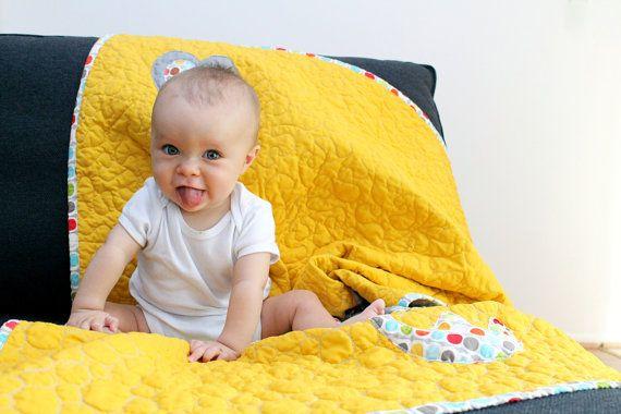 Baby Quilt pattern Crab applique design by stickysugarstitches, $6.00