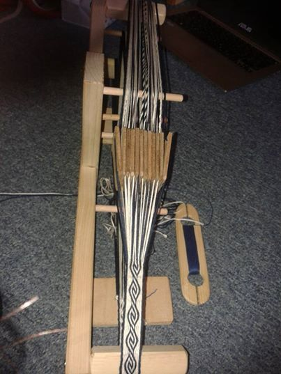 My first successful :) Tablet weaving - belt