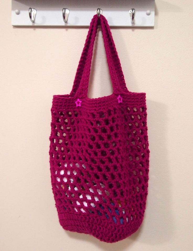 178 best ♡ Mesh String Bags ♡ images on Pinterest | Crocheted bags ...