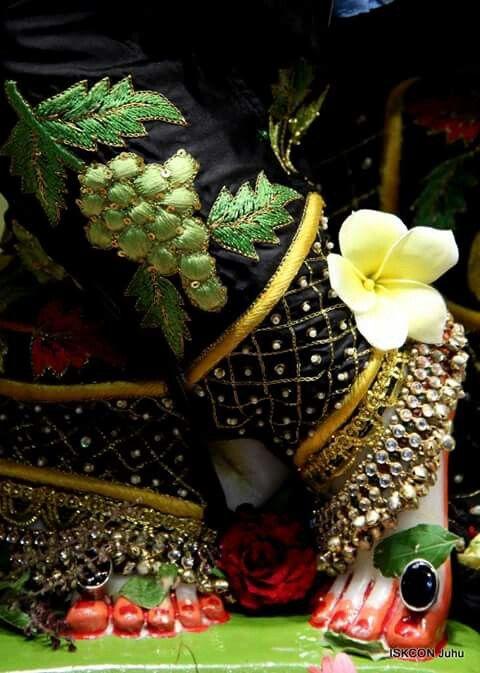 The Lotus feet of Sri Krishna