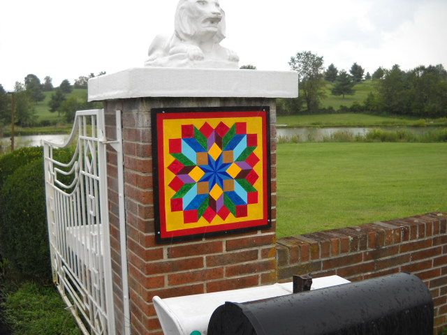 barn quilts will go anywhere: Barnquilt, Barns Art, Quilts Signs, Quilts Squares, Barns Blocks, Barns Squares, American Quilts, Barns Quilts Colors, Quilts Barns