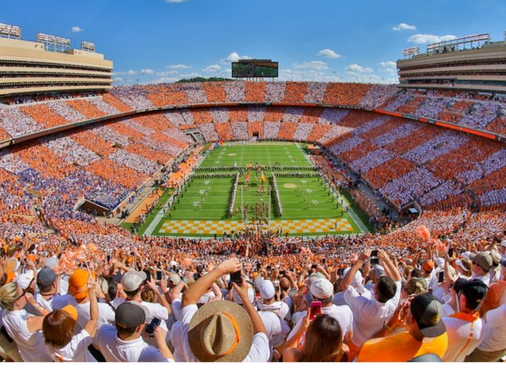 TN vs FL Neyland Stadium 93 years young today!