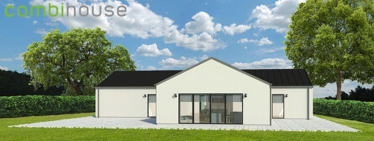 Mere plads til familien, og samtidigt lavere udgifter til el og varme. Nyt lavenergihus fra Combihouse på 210 m², skaffer begge dele! 4 værelser, Soveværelse, 2 badeværelser, Entré, Bryggers, Stort køkken alrum / Stue. Dette er kun et forslag. Hos Combihouse kan alt designes præcis efter jeres ønsker. Og stadig til typehuspris! http://combihouse.dk