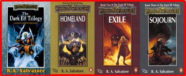 The Dark Elf Trilogy: codys favorite series...fav author as well