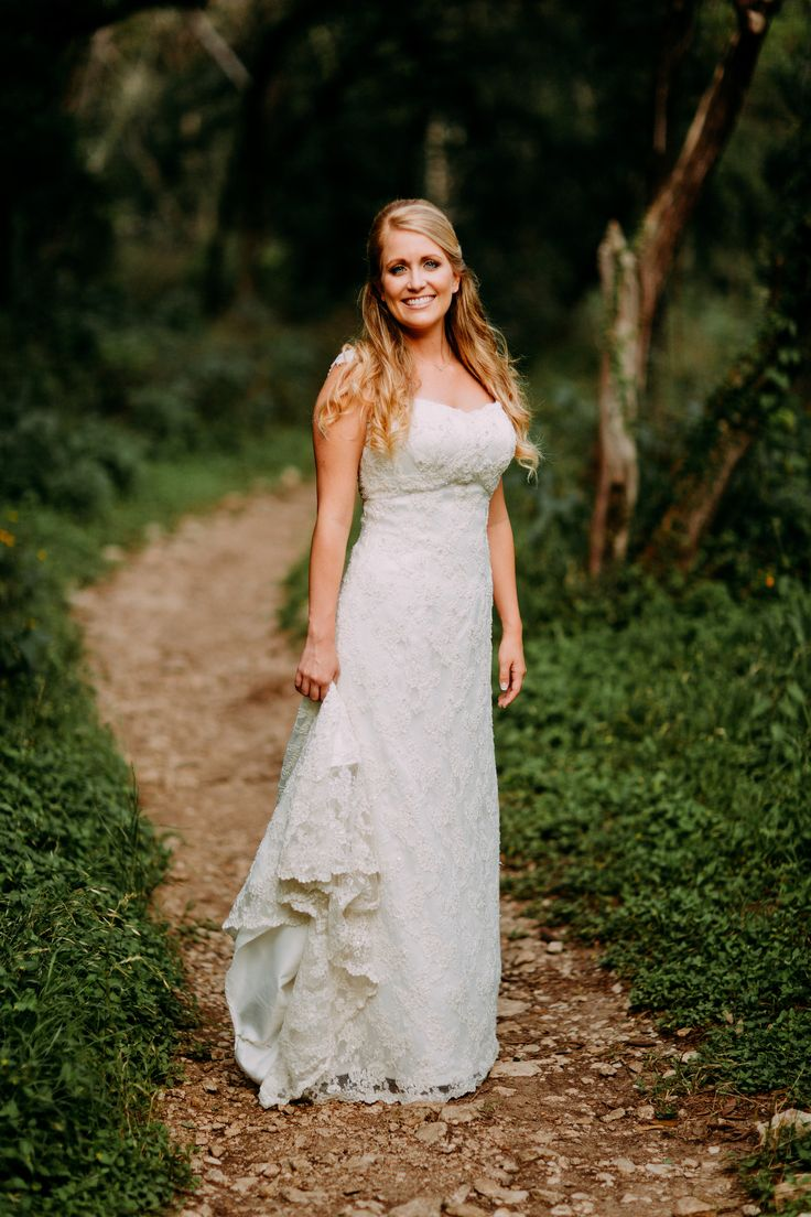 Mayfield park is perfect for bridal portraits in Austin!