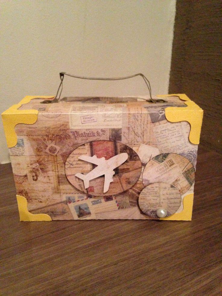 Suitcase box @svg