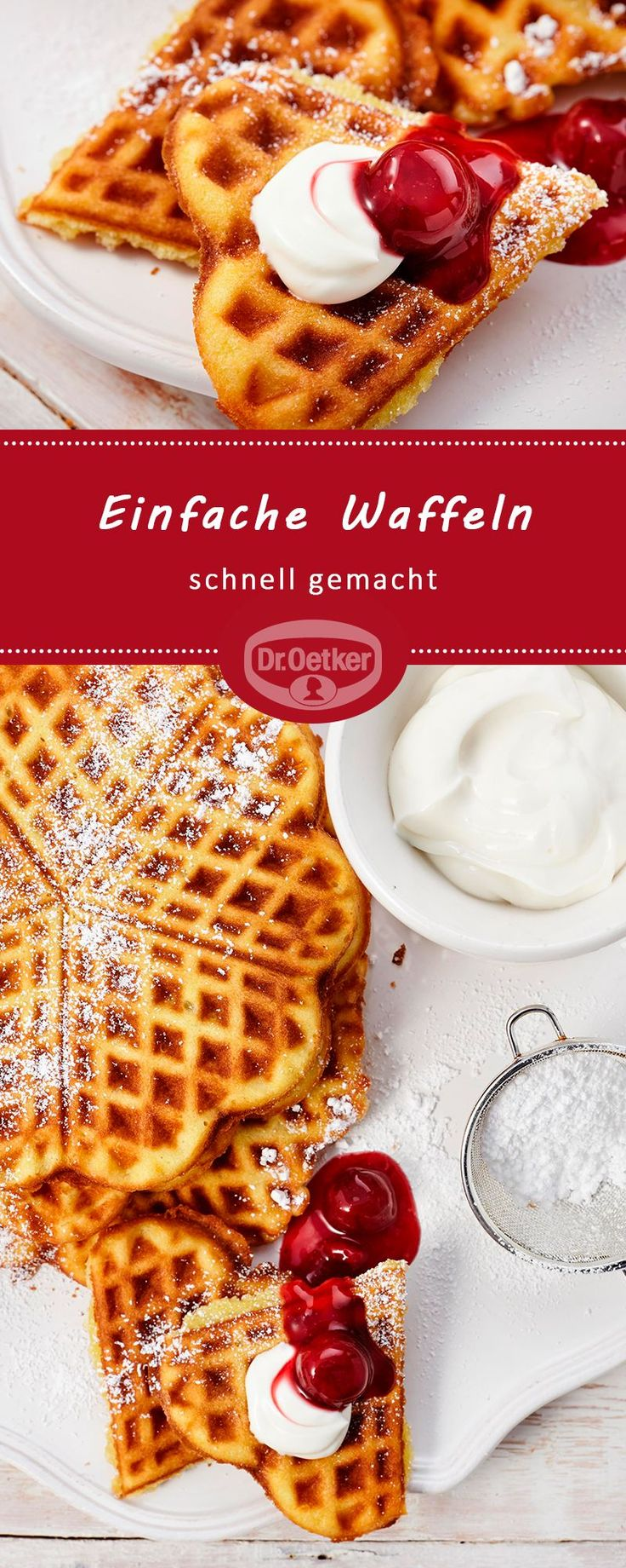 #waffelnbacken #simple #made #waffles #fast    – schnell