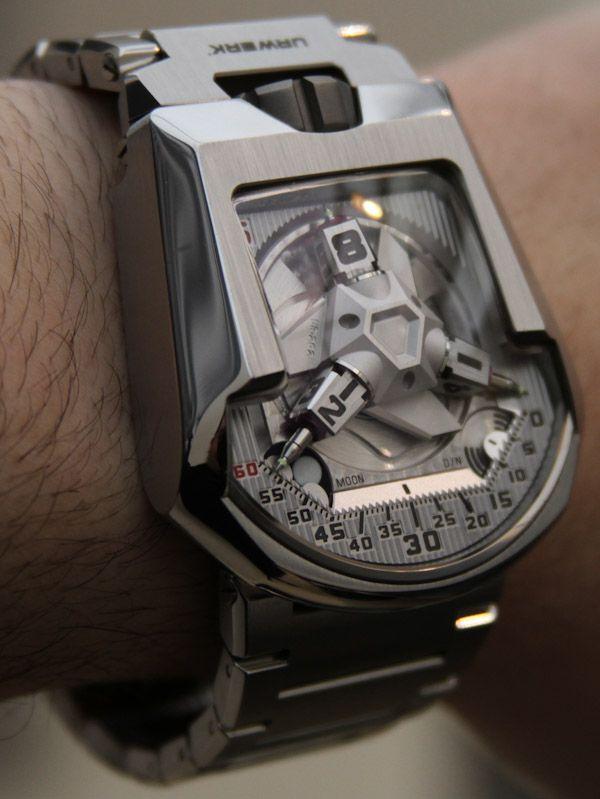 17 best images about trending watches for men men s urwerk ur 202s watch hammerhead full metal jacket limited edition of 50 piece