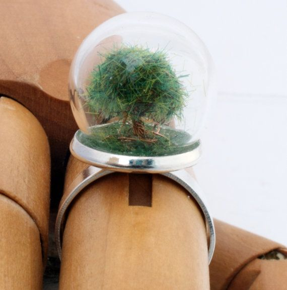 Glass dome DIY do it yourself kit for making by XercesArt on Etsy