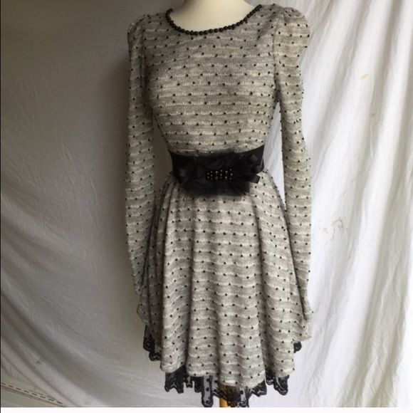 RYu clothing brand Very cute figure flattering dress the belt is included. Only wore once for office luncheon now it needs a new home! Ryu Dresses Long Sleeve