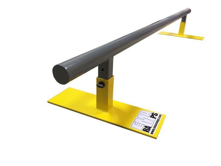 Image of EMA Ramps Youth Adjustable 6' Round Grind Rail FREE SHIPPING