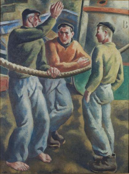 Pescadores vascos 1930-1935 Aurelio Arteta