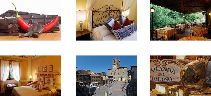 I Love Cortona! Speciale San Valentino della LOCANDA DEL MOLINO www.locandadelmolino.com